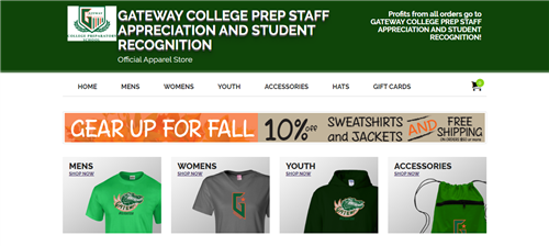 Apparel Store Home page image
