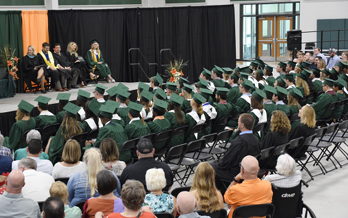 Class of 2019 Commencement Occurs In New Gym