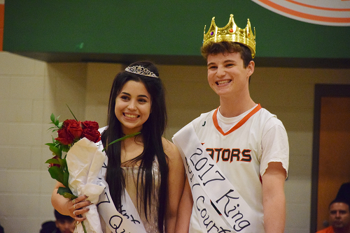 Homecoming King & Queen Announced