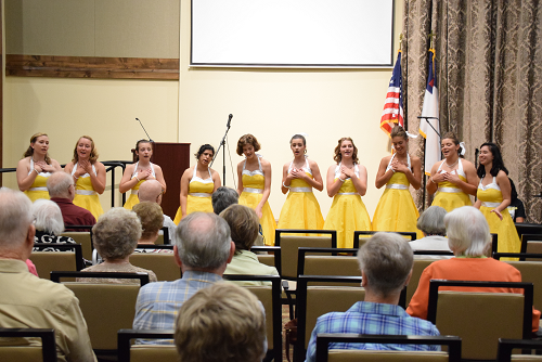 Jazz Choir Performs at Local Retirement Communities