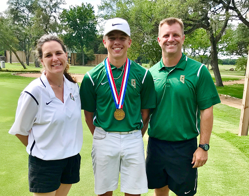 Miller Takes Bronze at State Golf Tourney