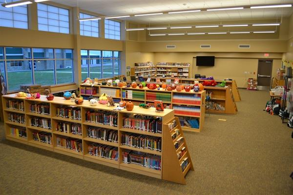 photo of inside of library